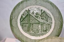 Lot 3 VTG 1940's The Old Curiosity Shop Vintage Cottage Scene China Dinner Plate