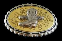 Cowboys Cowgirls Western Boots Oval Belt Buckle Buckles