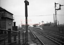 PHOTO  SR ESHER RAILWAY STATION VIEW  IN 1960`S