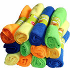 12 Pcs Microfiber Cleaning Cloths Kitchen Dish Wash Towels 12'' * 16'' Household