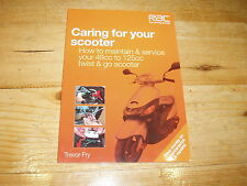 Sale Book - Caring for Your Scooter. All 49cc to 125cc Twist & Go Models