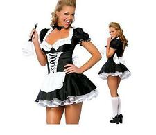 Sexy Room Services French Maid Occupation Dress Up Hens Night Halloween Costume