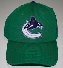 Vancouver Canucks Fanatics Authentic Pro Hat Cap A-Flex Sz S/M