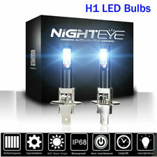 Nighteye H1 160W 1600LM LED Fog Light Bulbs Driving Lamp DRL 6500K White Xenon