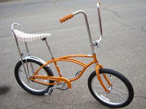 "NEW Schwinn Stingray Bike 20"" Coppertone Gold Banana Seat Muscle Classic Retro"