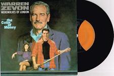 """WARREN ZEVON - WAREWOLVES OF LONDON - 7"""" VINYL RECORD w PICT SLV - 1987 RE-ISSUE"""