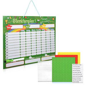 Belohnungstafel magnetisch abwischbar 40x32cm Kinder Aufgaben Tafel Magnettafel