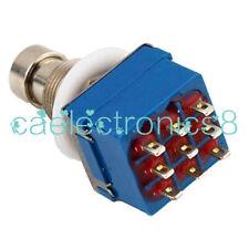3PDT Foot Switch Stompbox Pedal CN Verkäufer True Bypass Fußschalter mode CA