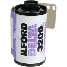 Ilford Delta 3200 Professional Black and White Negative Film (35mm Roll Film, 36