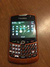 BlackBerry Curve 8330 - Orange Smartphone With Cord Amd Original Instructions