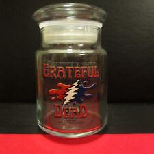 GRATEFUL DEAD Stash Jar; Steal Your Face Lightning Bolt Splatter; Licensed 2009