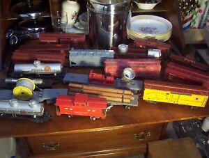 American Flyer s Gage Lot of Cars Have to Look at photos Large Lot