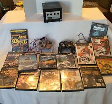 Huge Nintendo Gamecube Bundle LOT: Console, 14 Games, 2 Controllers, Memory Card