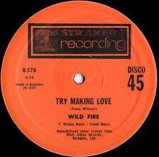 """Wild Fire – Try Making Love - (EXTENDED)  - 12"""" INCH"""