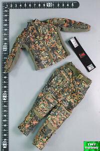 1:6 Scale Verycool VCF-2050 Flecktarn Women Soldier KERR - Combat Uniform +Patch