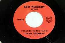 Dickie Goodman: Inflation in the Nation / Jon & Jed's Theme  [NEW & Unplayed]