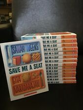 Save Me a Seat by Sarah Weeks - Classroom Guided Reading Set of 15 - New!