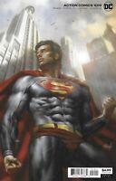 Superman Action Comics 1019 Cover B Variant Lucio Parrillo Card Stock 2020 DC