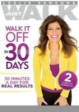 Leslie Sansone Walk It Off in 30 Days (DVD, 2013)