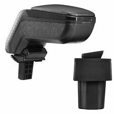 Moyens accoudoir accoudoirs noir entièrement compatible pliable Compartiment De Rangement Textile Référence