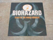Biohazard State of the World Address 94 Promo LP Record Photo Flat 12x12 Poster
