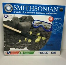 New ListingSmithsonian Gold Dig Educational Prospecting Adventure Discovery Wonder Toy