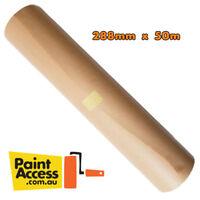 Drop sheet/ Kraft Brown Masking Paper 288mm x 50m