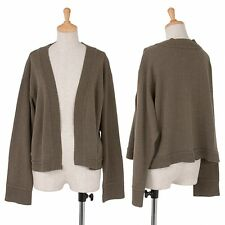 Plantation Cotton Polyester Cardigan Size M(K-37311)