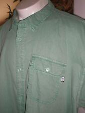 NWT ECKO UNLTD GREEN S/S FULL BUTTONED DRESS SHIRT SZ:5XB 5XL 5X