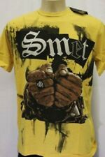 New Smet by Christian Audigier Los Angeles Men's Yellow Prison Break T-Shirt XL