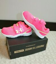 Under Armour Pink Toddler Girls' Running Shoes size 10