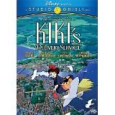 Kiki's Delivery Service DVD Movie Walt Disney witch Jiji cat Kirsten Dunst Hayao