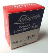 Vintage Lafayette Transistor Transformer Tr-99 Japan Nos