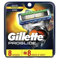 Gillette Proglide Blades 8 Replacement Cartridges NEW