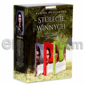 Stulecie Winnych. Bestsellerowa trylogia 3 tomy w kartoniku - Ałbena Grabowska