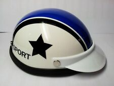 Helmet Hat Cap Dog Cat Costume Accessory Pet Supplies Safety Star White Blue