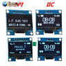 "1.3"" IIC/SPI Blue/White 128X64 Serial OLED LCD Display Screen Module for Arduino"