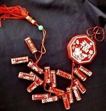 2 artificielle décoration rouge chinoise M pétards Hanging charme japonais Parti