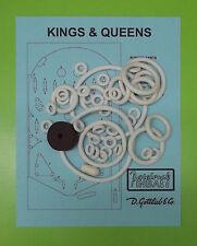 1965 Gottlieb Kings & Queens pinball rubber ring kit