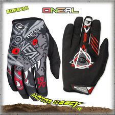 GUANTO GLOVE CROSS ENDURO QUAD O'NEAL ONEAL MAYHEM MATT MCDUFF GREY RED TG S