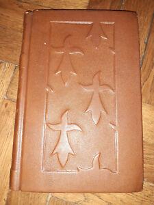 Histoire de la Bretagne par l'Abbé POISSON Belle reliure  plats en reliefs