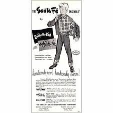 1952 Billy the Kid: Don Carlos Jr Vintage Print Ad