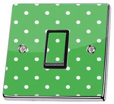 Pegatinas de pared color principal verde para el baño