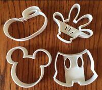 Topolino Formina Biscotti Cookie Cutter Mickey Mouse Pdz 5cm 4pz + 3 Impronte