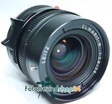 Leica M Elmarit 2.8/28 e49 + obiettivo 12536