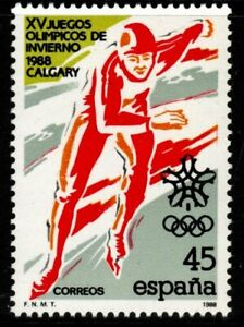 SPAIN SG2946 1988 WINTER OLYMPIC GAMES MNH