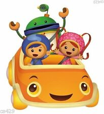 "8"" Team umizoomi geo milli bot umicar car birthday wall decal decor cut out"