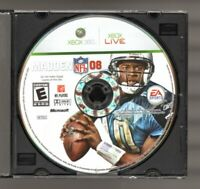 Madden NFL 08 (Microsoft Xbox 360, 2008) disc only