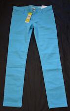 Adidas Neo Skinny Fit Stretch Jeans Hose M 38 W29 L32 NEU Light Aqua