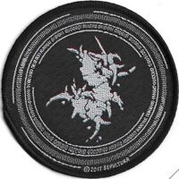 Official Licensed Merch Woven Sew-on PATCH Metal Rock SEPULTURA Binary Circular